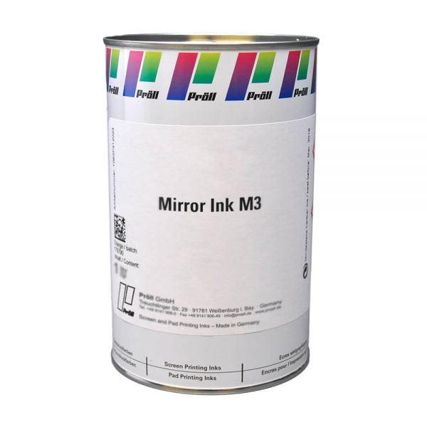 farba mirror ink M3 Farby z efektem lustra i pigmentem specjalnym do sitodruku