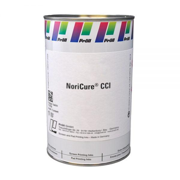 farba NoriCure CCI Farby sitodrukowe utwardzane UV, Systemy do sitodruku na kartach plastikowych sitodruk przemysłowy
