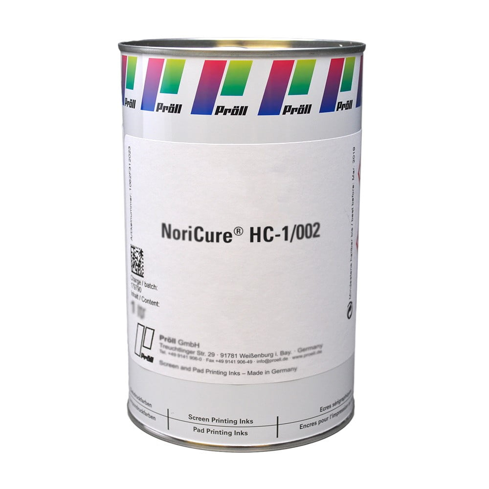 farba NoriCure-HC-1-002 Lakiery DualCure lakiery ochronne lakiery do sitodruku sitodruk przemysłowy