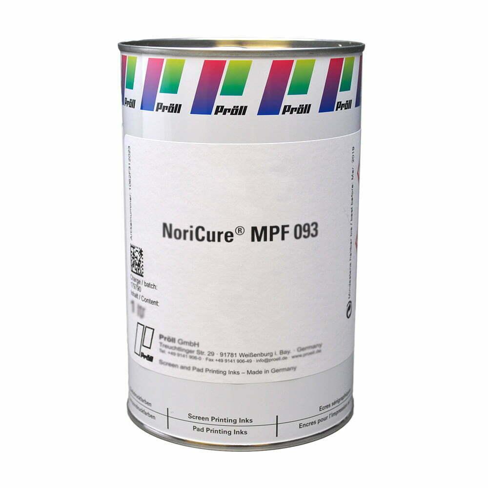 farba NoriCureMPF-093 Lakiery DualCure lakiery ochronne lakiery do sitodruku sitodruk przemysłowy