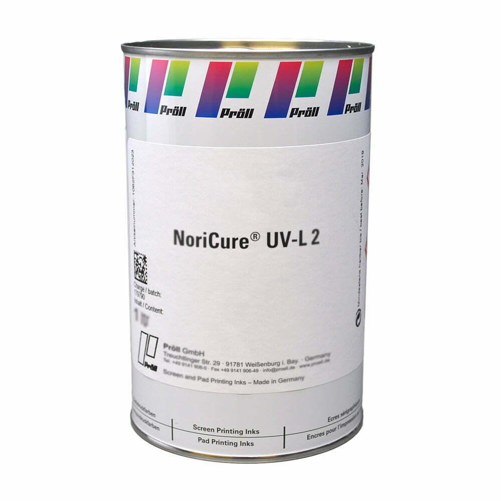 farba NoriCure UV-L-2 Lakiery DualCure lakiery ochronne lakiery do sitodruku sitodruk przemysłowy