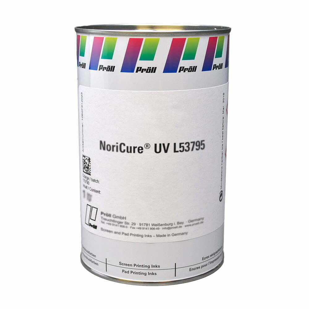 farba NoriCure UV L53795 Lakiery DualCure lakiery ochronne lakiery do sitodruku sitodruk przemysłowy