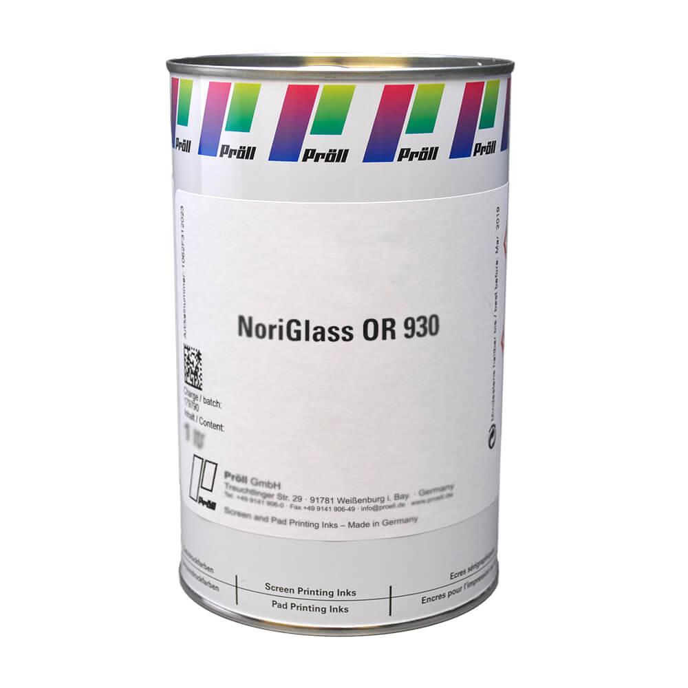 farba NoriGlass OR 930 Systemy do sitodruku na szkle sitodruk przemysłowy
