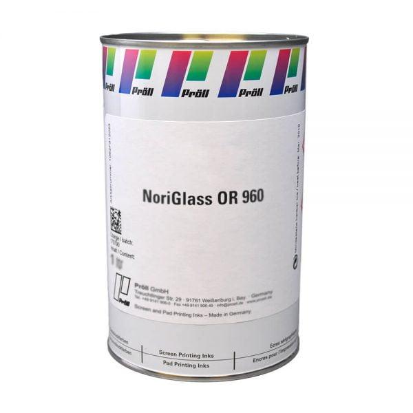 farba NoriGlass OR 960 Systemy do sitodruku na szkle sitodruk przemysłowy