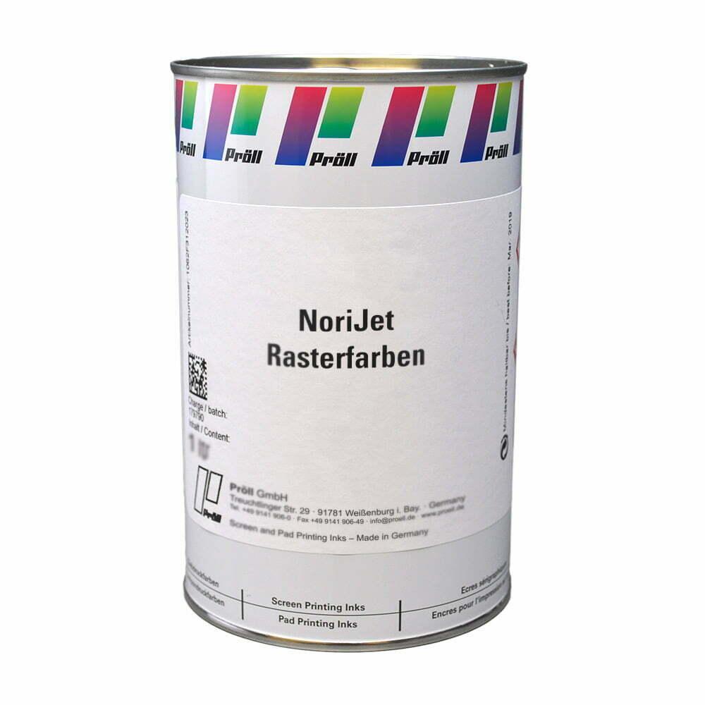 farba NoriJet Rasterfarben Farby sitodrukowe rozpuszczalnikowe sitodruk przemysłowy