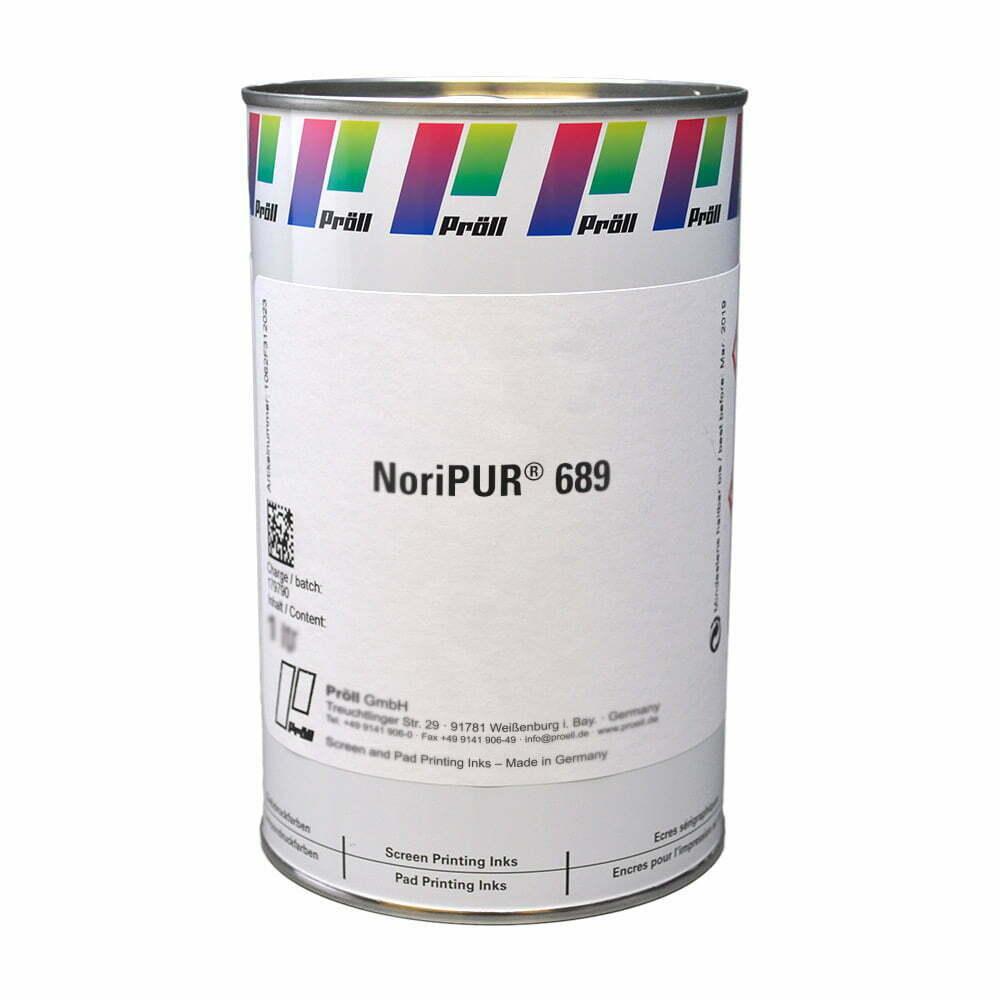 farba NoriPUR-689 Lakiery DualCure lakiery ochronne lakiery do sitodruku sitodruk przemysłowy