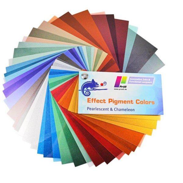 Farby z efektem lustra i pigmentem specjalnym