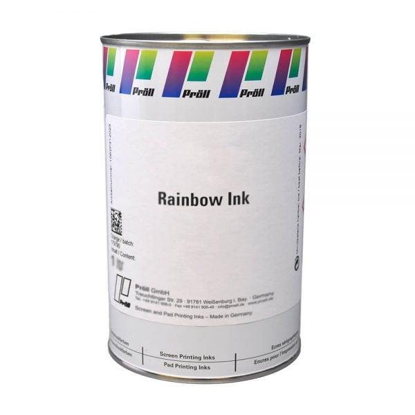 farba rainbow ink Farby z efektem lustra i pigmentem specjalnym do sitodruku