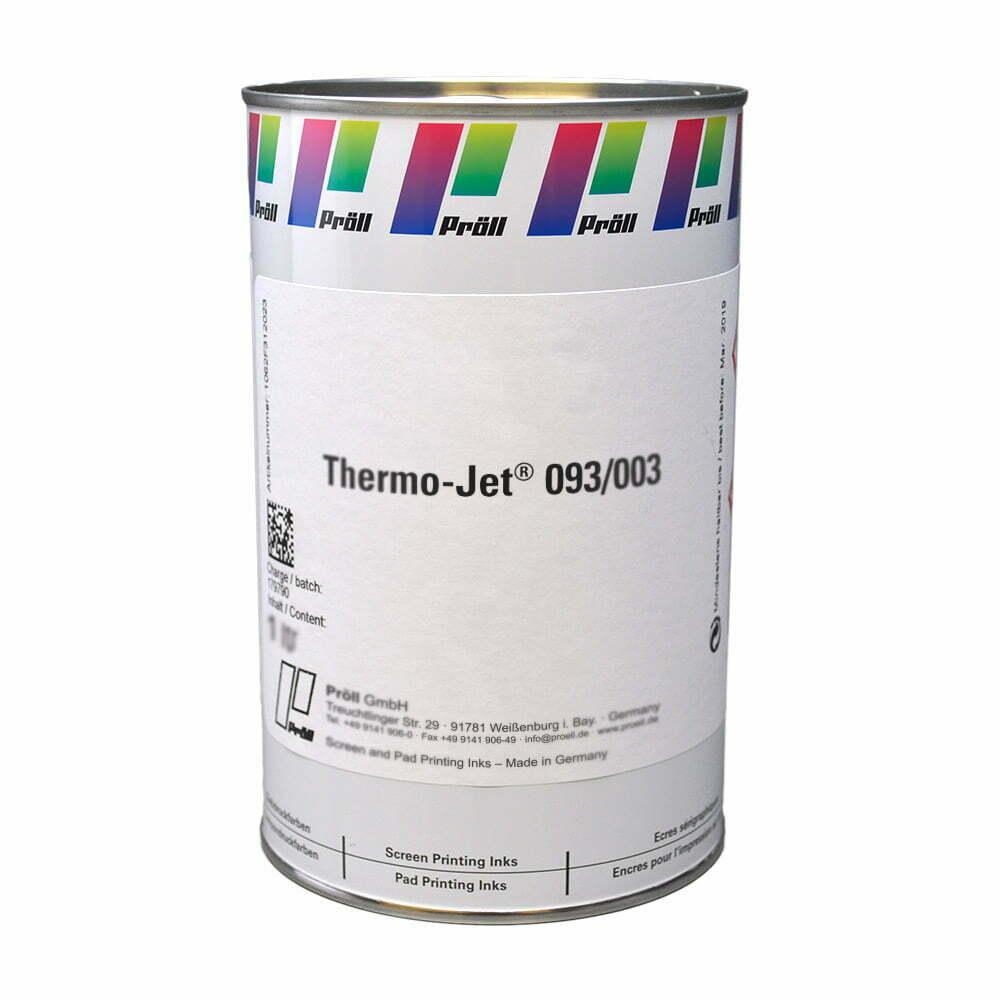 farba Thermo Jet 093-003 Lakiery DualCure lakiery ochronne lakiery do sitodruku sitodruk przemysłowy