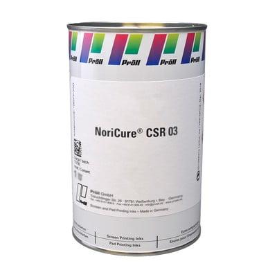NoriCure CSR-03 Farby sitodrukowe utwardzane UV Systemy do sitodruku na kartach plastikowych
